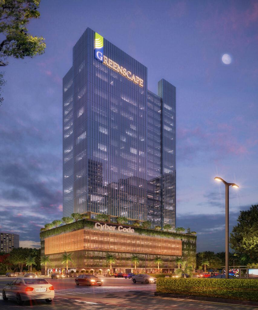 Cyber Code in Nerul, luxurious office spaces of Navi Mumbai, best property investment in navi mumbai