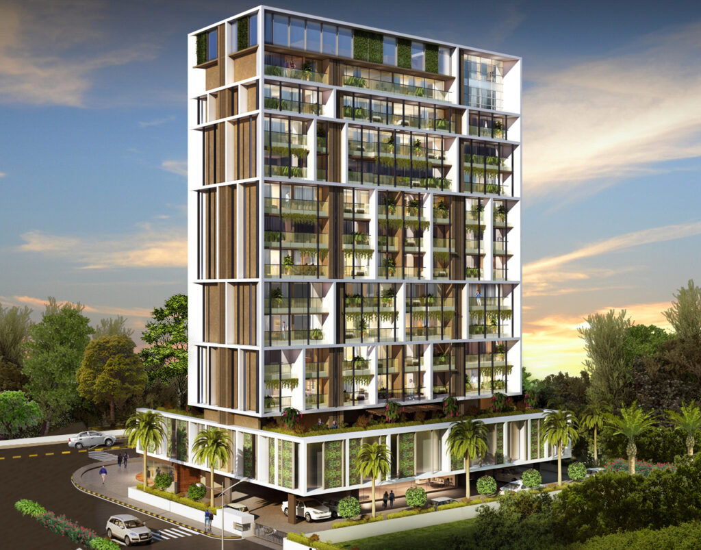 The Residence Greenscape Group, luxurious office spaces of Navi Mumbai, best property investment in navi mumbai