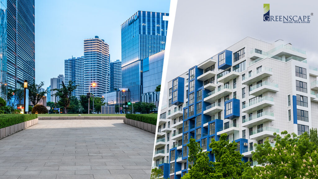 difference between commercial and residential real estate